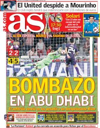capa Jornal As de 19 dezembro 2018