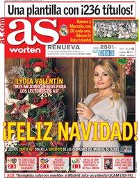 capa Jornal As de 24 dezembro 2018