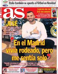 capa Jornal As de 26 dezembro 2018