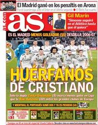 capa Jornal As de 30 dezembro 2018