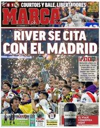 capa Jornal Marca de 10 dezembro 2018