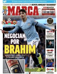 capa Jornal Marca de 12 dezembro 2018