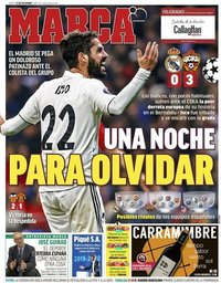 capa Jornal Marca de 13 dezembro 2018