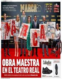 capa Jornal Marca de 14 dezembro 2018