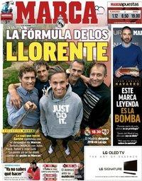 capa Jornal Marca de 15 dezembro 2018