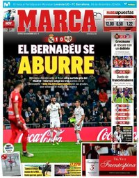 capa Jornal Marca de 16 dezembro 2018