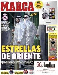 capa Jornal Marca de 21 dezembro 2018