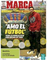 capa Jornal Marca de 27 dezembro 2018