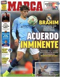 capa Jornal Marca de 28 dezembro 2018