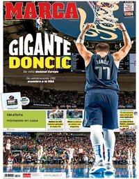 capa Jornal Marca de 30 dezembro 2018
