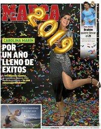 capa Jornal Marca de 31 dezembro 2018