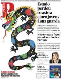 capa Público de 4 dezembro 2018