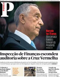 capa Público de 12 dezembro 2018