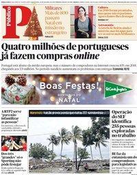 capa Público de 24 dezembro 2018