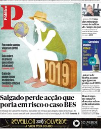 capa Público de 29 dezembro 2018