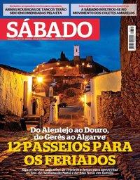 capa Revista Sábado de 20 dezembro 2018
