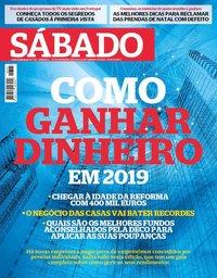 capa Revista Sábado de 27 dezembro 2018
