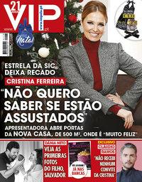 capa VIP de 15 dezembro 2018