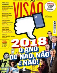 capa Visão de 19 dezembro 2018
