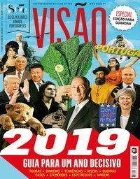 capa Visão de 27 dezembro 2018