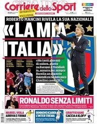 capa Corriere dello Sport de 2 janeiro 2019