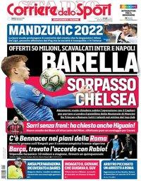 capa Corriere dello Sport de 5 janeiro 2019
