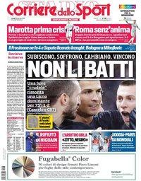 capa Corriere dello Sport de 28 janeiro 2019
