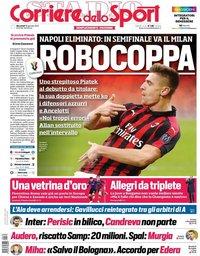 capa Corriere dello Sport de 30 janeiro 2019