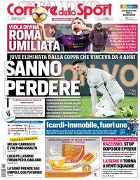 capa Corriere dello Sport de 31 janeiro 2019