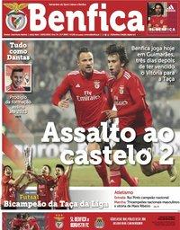 capa Jornal Benfica de 18 janeiro 2019