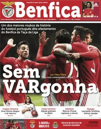 capa Jornal Benfica de 25 janeiro 2019