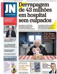 capa Jornal de Notícias de 5 janeiro 2019