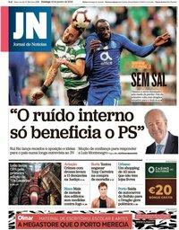 capa Jornal de Notícias de 13 janeiro 2019