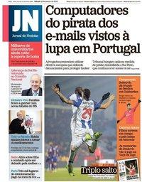 capa Jornal de Notícias de 19 janeiro 2019