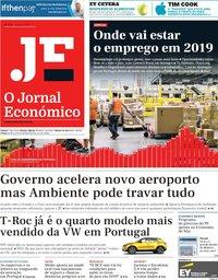 capa Jornal Económico de 4 janeiro 2019