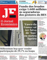 capa Jornal Económico de 11 janeiro 2019