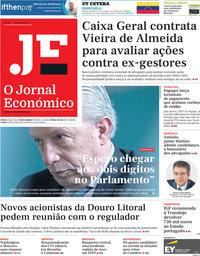 capa Jornal Económico de 25 janeiro 2019