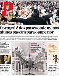 capa Público de 7 janeiro 2019