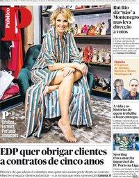 capa Público de 13 janeiro 2019