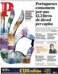 capa Público de 29 janeiro 2019