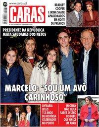 capa Revista Caras de 17 janeiro 2019