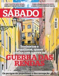 capa Revista Sábado de 3 janeiro 2019