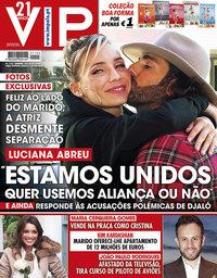 capa VIP de 19 janeiro 2019