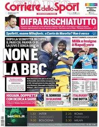 capa Corriere dello Sport de 3 fevereiro 2019