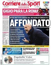 capa Corriere dello Sport de 4 fevereiro 2019