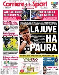 capa Corriere dello Sport de 5 fevereiro 2019