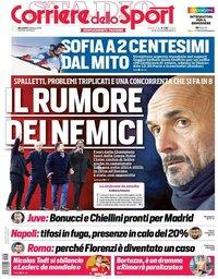 capa Corriere dello Sport de 6 fevereiro 2019