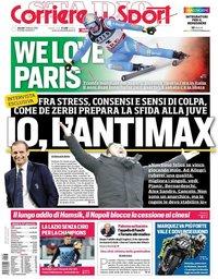 capa Corriere dello Sport de 7 fevereiro 2019