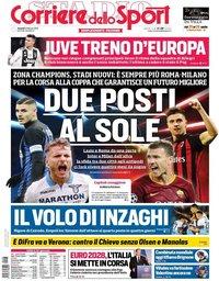 capa Corriere dello Sport de 8 fevereiro 2019