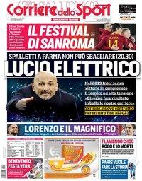 capa Corriere dello Sport de 9 fevereiro 2019